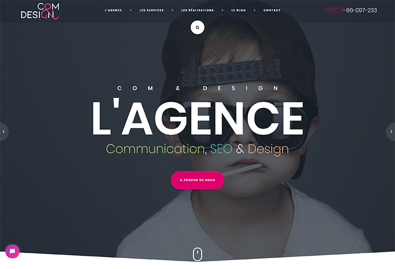 Agence web Com And Design